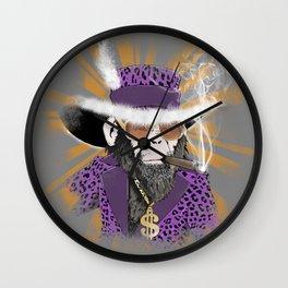 Pimp-Panzee Wall Clock