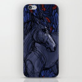 Valor the Mustang iPhone Skin