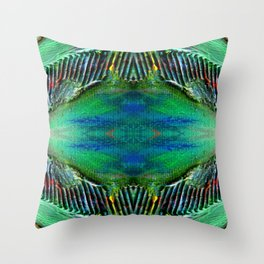 Textured Eye, View 2 Throw Pillow