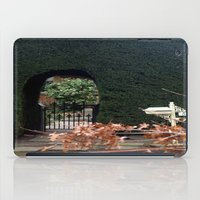 aelwen iPad Cases featuring Behind the Gate by Chris' Landscape Images & Designs