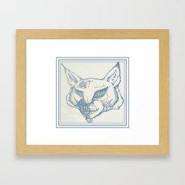 Vintage TechnoLynx Framed Art Print