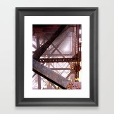 I Need More Structure In My Life Framed Art Print