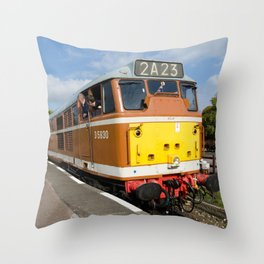 Diesel loco 5830 Throw Pillow