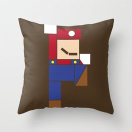 Let's Go Minimal! Throw Pillow