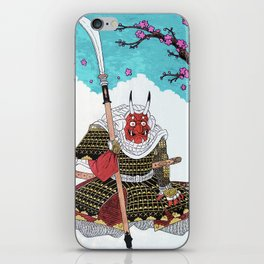 Demon Samurai iPhone Skin