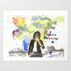 Riversong From Doctor Who Hello Sweetie Art Print