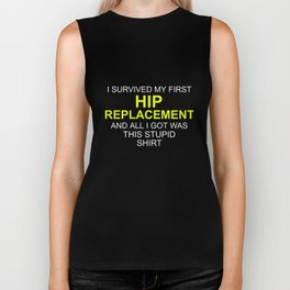 I Survived My Hip Replacement Surgery Biker Tank