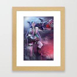 Get Jinxed!  Framed Art Print