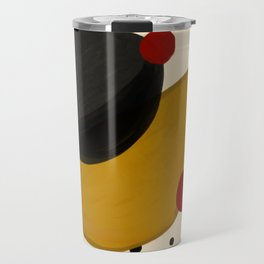 Abstract minimal Travel Mug