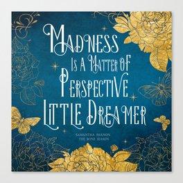 Little Dreamer - The Bone Season Canvas Print