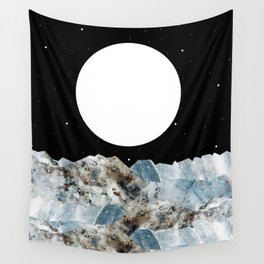 Rocky Waves Wall Tapestry
