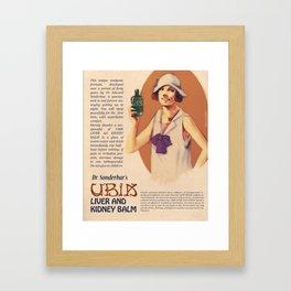 Dr. Sonderbar's Ubik Framed Art Print