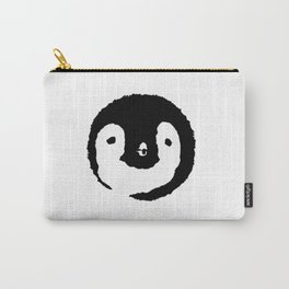 Baby Penguin Face Carry-All Pouch
