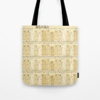 bears Tote Bags featuring Bears! by Bird & Bow Studios
