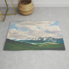 Sunlight and Mountains Rug