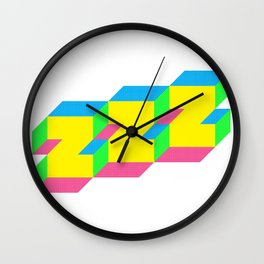 ZZZ Wall Clock