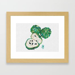 Sweet Sop Sugar Spring Framed Art Print