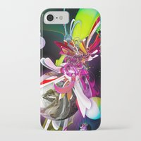 runner iPhone & iPod Cases featuring Splash Runner by Andre Villanueva
