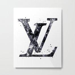 LOUIS . VUITTON LOGO Metal Print