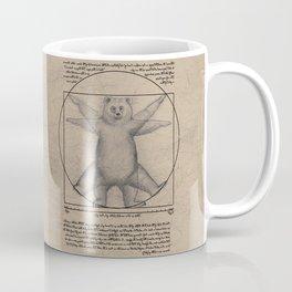 The Vitruvian Bear Coffee Mug