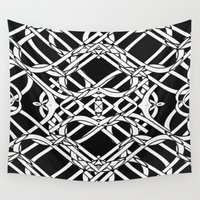 celtic Wall Tapestries featuring Celtic Art by Alice Gosling