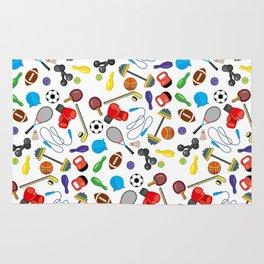 Children's Sport Pattern Rug