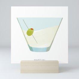 Cocktail Hour: Martini Mini Art Print