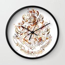 Hogwarts Crest Wall Clock