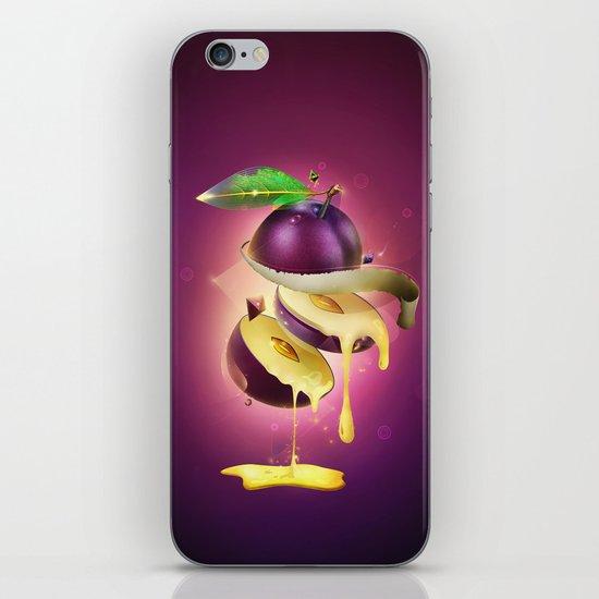 Sliced Plum iPhone & iPod Skin