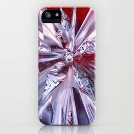 Chrome Petals iPhone Case