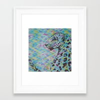 camo Framed Art Prints featuring Camo by Caballos of Colour