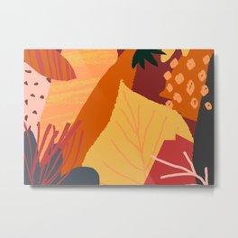 Autumn Abstract 1 Metal Print