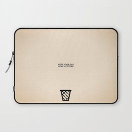 Sunscreen / Keep your old love letters Laptop Sleeve