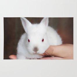 Bunny in hand Rug