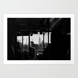 New York New York Art Print