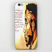 kendrick lamar iPhone & iPod Skins featuring Kendrick Lamar by Monroe the artist