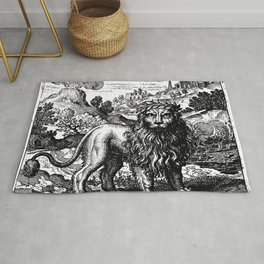 Theosophie & Alchemie - The Green Lion Rug