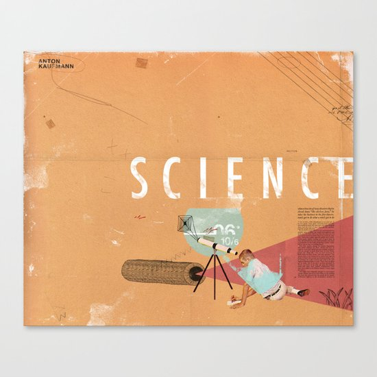 Science- fun for all ages Canvas Print