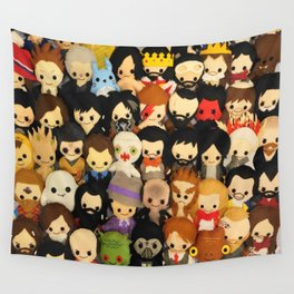 Plushies Plushies Plushies Wall Tapestry