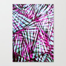 Pink Tiger Stripes Canvas Print