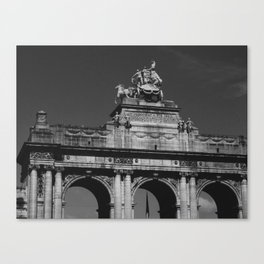 Belgique Canvas Print