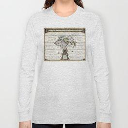 World Map - Geographicus Orbis Terrarum - 1650 Long Sleeve T-shirt