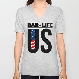 United States Bar•Life Unisex V-Neck