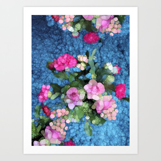 Out of the Blue Art Print