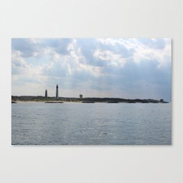 Just off the Coast Canvas Print
