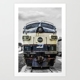 Cab Forward Art Print