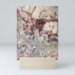 Granite, iPhone-Photo I, #stone #rock Mini Art Print