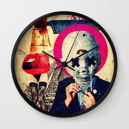 All War Is Deception Wall Clock
