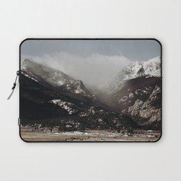 Snow Clouds Laptop Sleeve