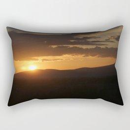 Smith Rock Sunrise Rectangular Pillow